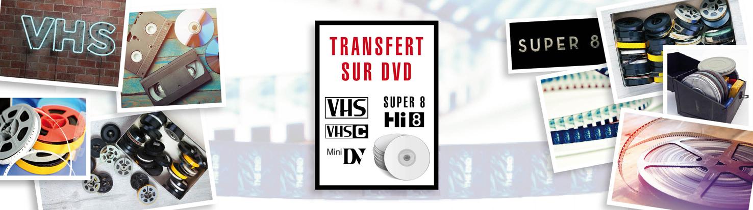 transfert de film sur DVD
