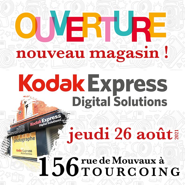 nouvel adresse kodak express digital solutions tourcoing